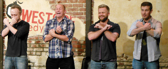 The Horde at the Westside Comedy Theater (photo courtesy WCT)